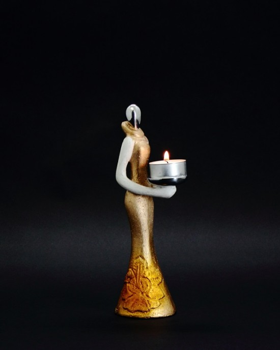 Candle Holder - Spore Lady 1B