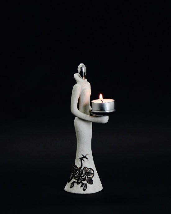 Candle holder - Spore Lady 2A