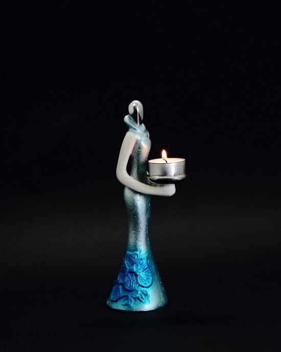 Candle Holder - Spore Lady 3B