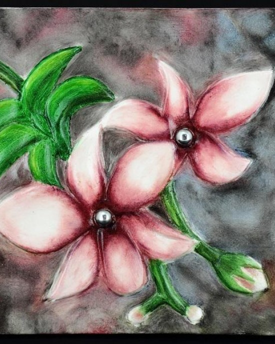 Decor Collection - Orchid Wall Decor' A