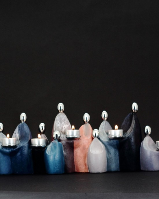 Candle Holder collection- Dodici Viaggiatore
