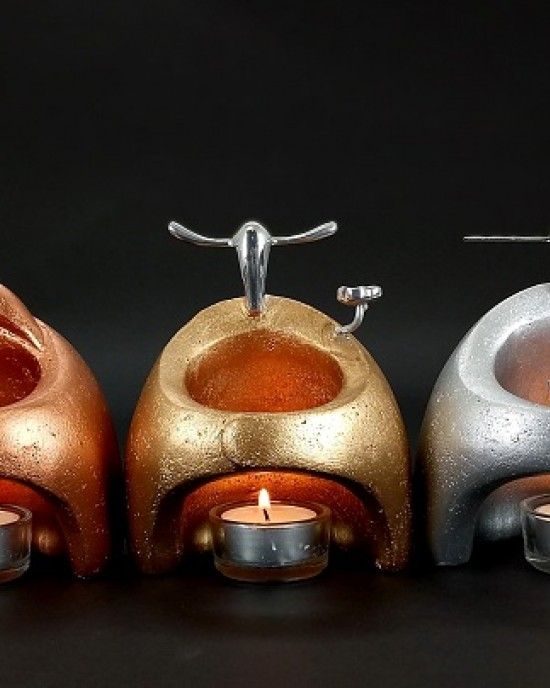Candle Holder Collection-Fu Lu Shou