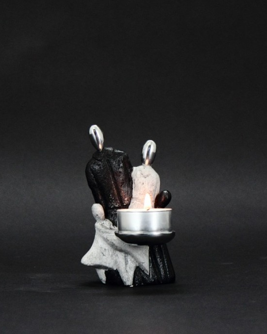 Candle Holder Collection - Famiglia Grey
