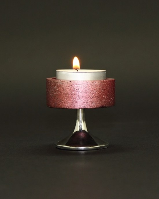 Decor Collection - Orchid Candle holder A