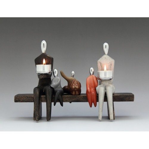 Family Collection-Family On Bench
