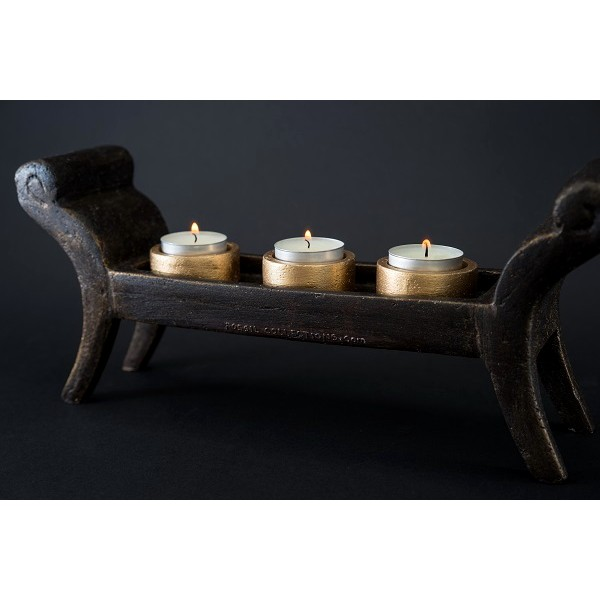 Decor Collection - Candle Shabbath