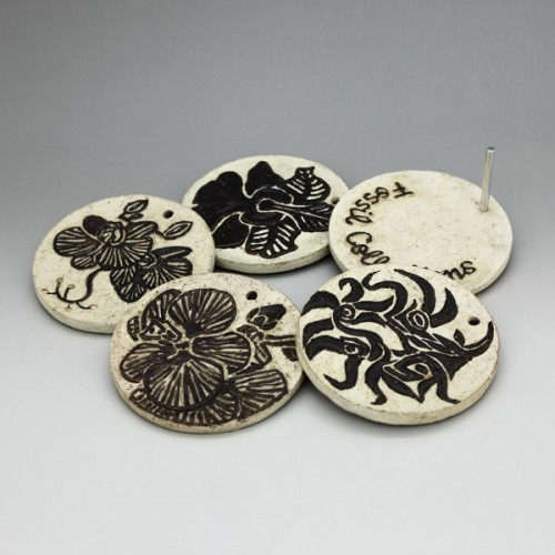 Corporate gifts-Orchid coaster